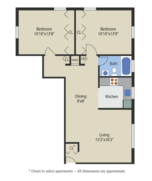 L Shape Apartment In Anne Arundel County