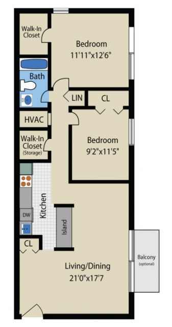 Two bedroom townhome style a apartment in glen burnie - 2 bedroom apartments in maryland ...